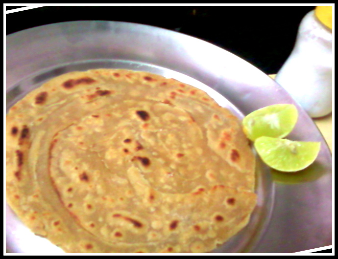 how to make laccha paratha