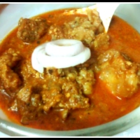 Recipe for Shahi Rogan Josh (Royal Kashmiri Red Mutton Curry)
