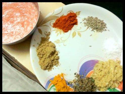 Kadhai Mushroom Masala Curry.
