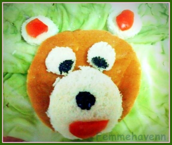 Bear Food Art