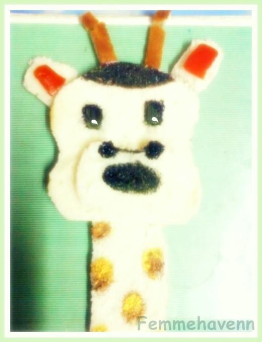 Giraffe Food art