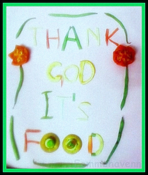 TGIF food art