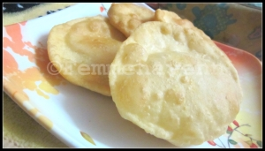 Bhatura (Refined flour fried bread)