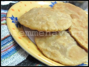 Dal ki Kachori (lentil stuffed Fried bread)