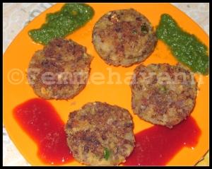 Rajma Kebabs (kidney beans Kebabs)