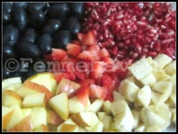 Mixed Fruits Custard