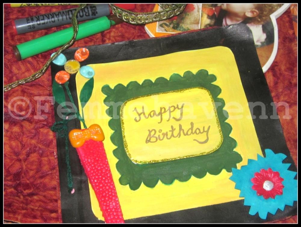 Birthday Card-DIY