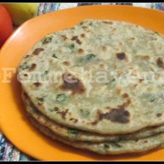 Methi-Parathe (Fenugreek Flat Breads)