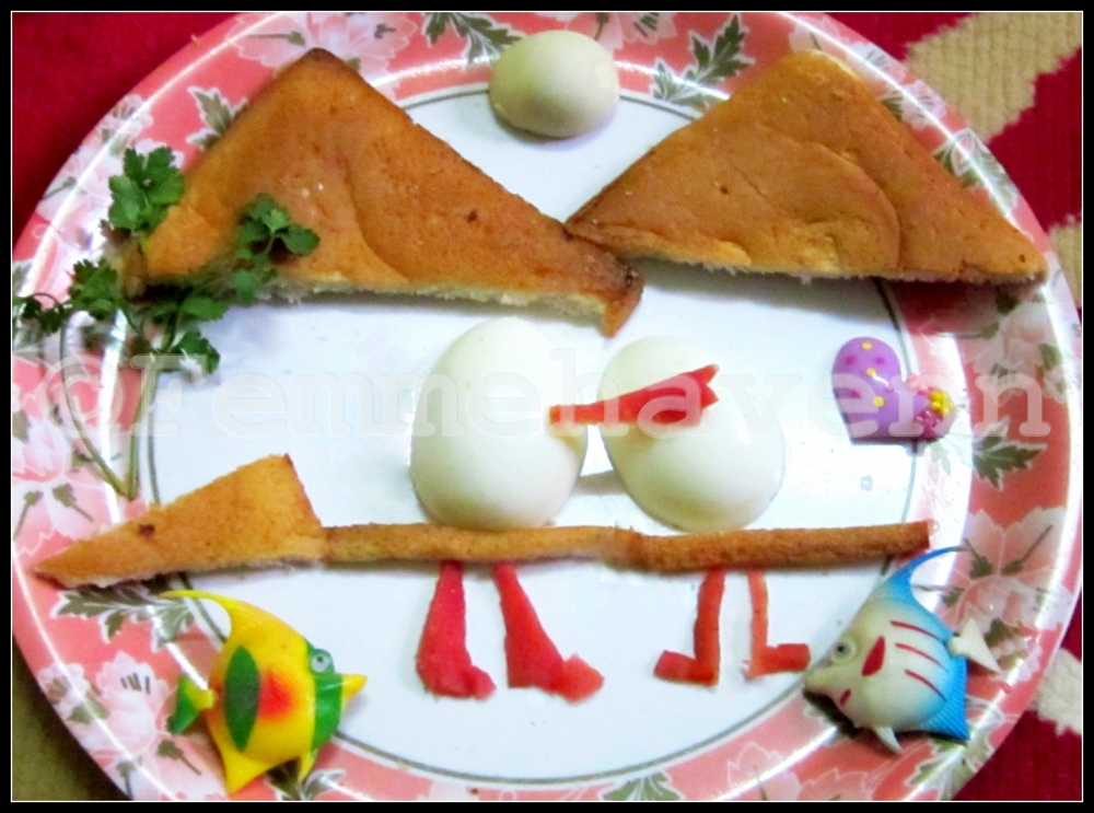 Artistic Eggs- Food Art with Eggs