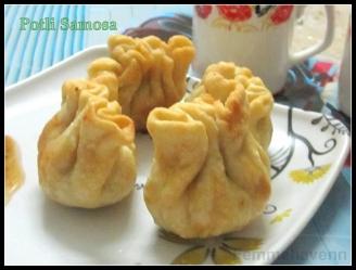 Potli Samosa (Stuffed Pouch Snacks)