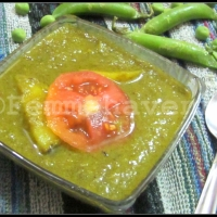 Nimona (Ground Green Peas Curry)