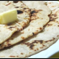 Tandoori Roti (at home, no microwave, no tandoor)