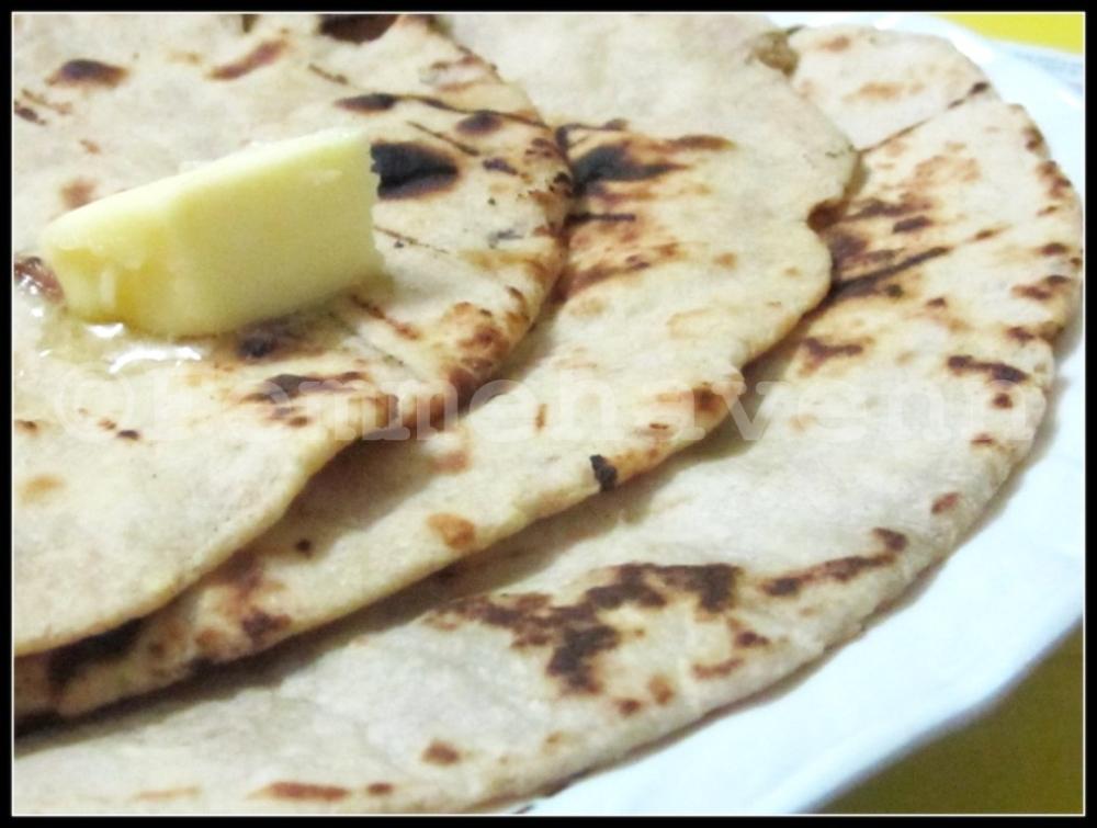 Tandoori Roti At Home No Microwave No Tandoor