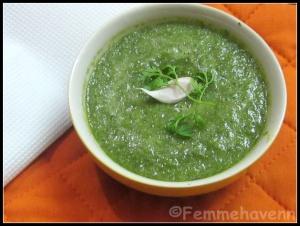 Chatpati Chutney (Savoury Green Dip)