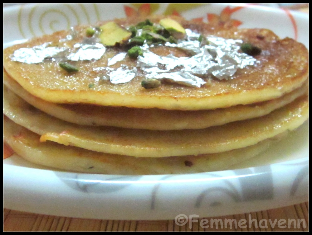 Maalpua (North Indian Pancakes soaked in sugar syrup)