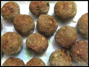 Kathal Kofta (Fried Jackfruit balls in rich spicy gravy)