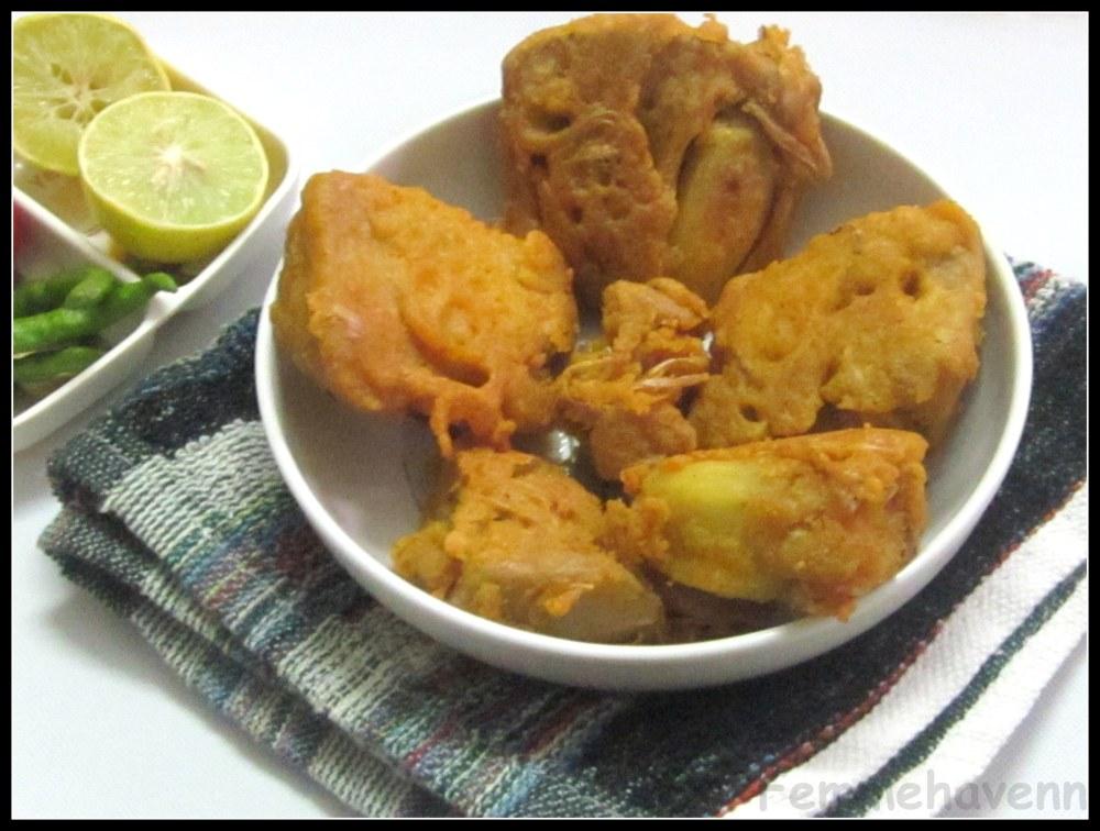 Kathal-Pakode (Jackfruit-Fritters)