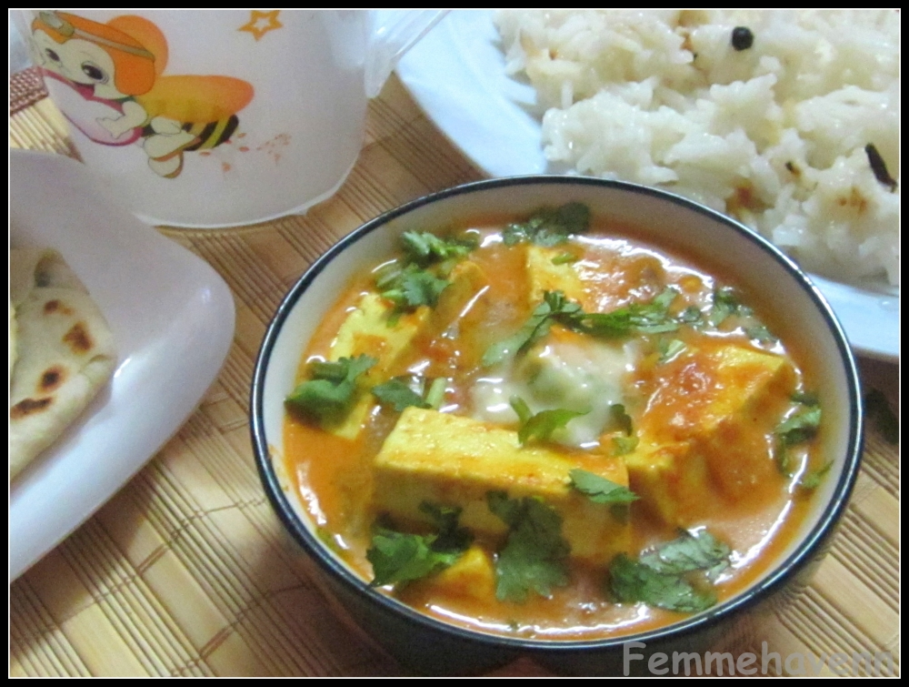 kadai paneer with pineapple by sala kannan paneer butter masala paneer ...
