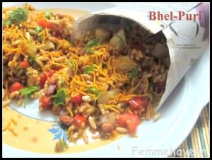 Bhel Puri (Bhel-Poori/Churumuri/Jhal Muri)
