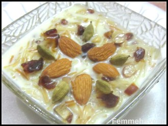 Seviyan Kheer or Vermicelli Pudding