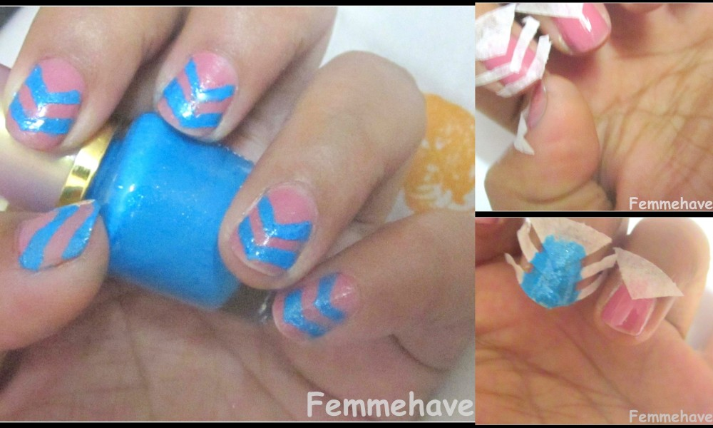 6 Different Trendy Tape Nail Arts Femmehavenn