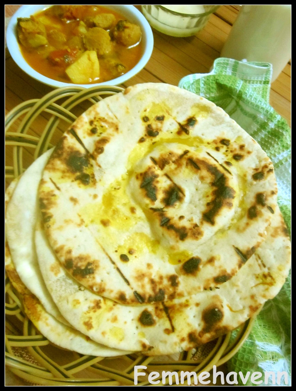 Sheermal (at home without Tandoor, no Microwave)