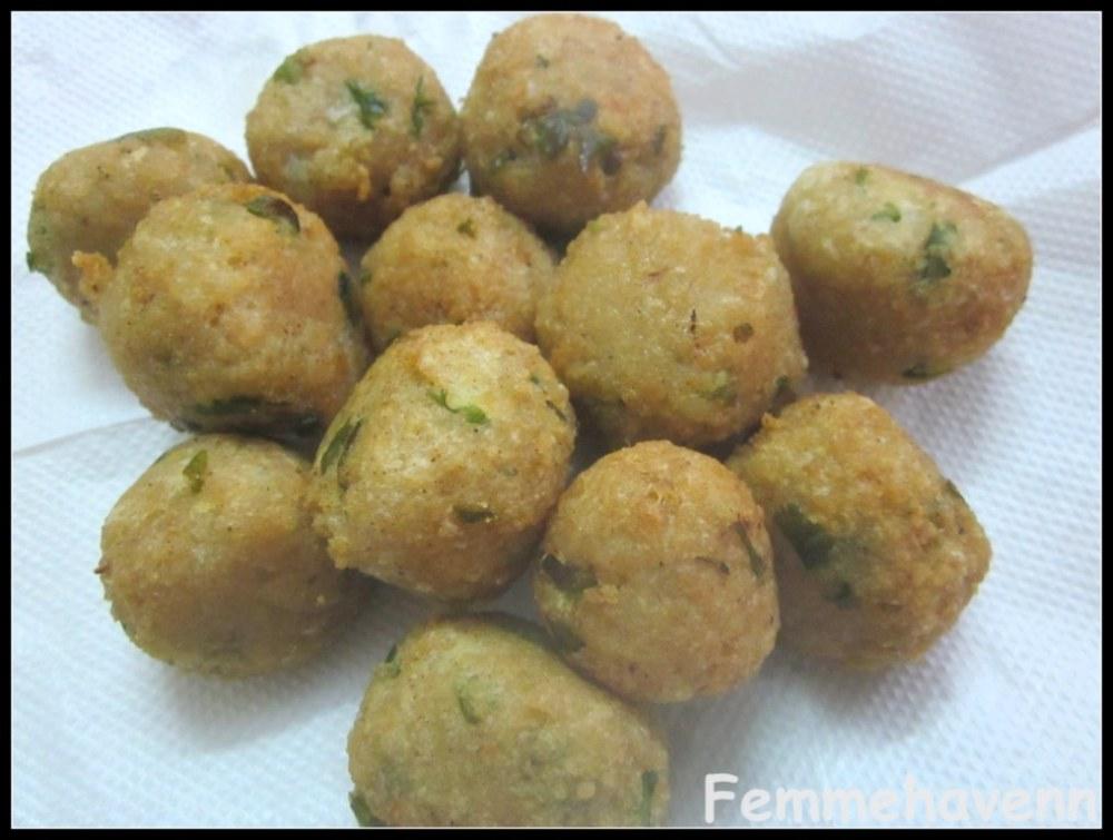 Fried Soya kofta balls