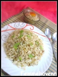 Chilli-Garlic Fried Rice