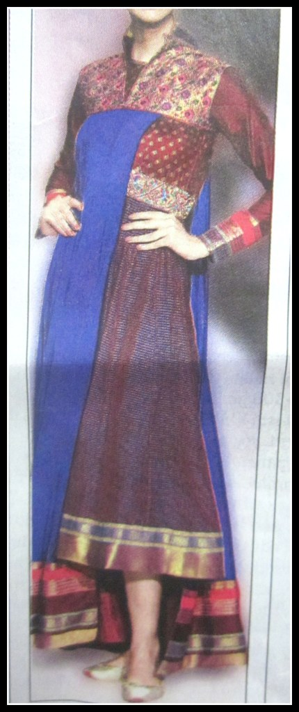 Anarkali Midi (Image courtesy: Snapped from Times Life, Times of India)