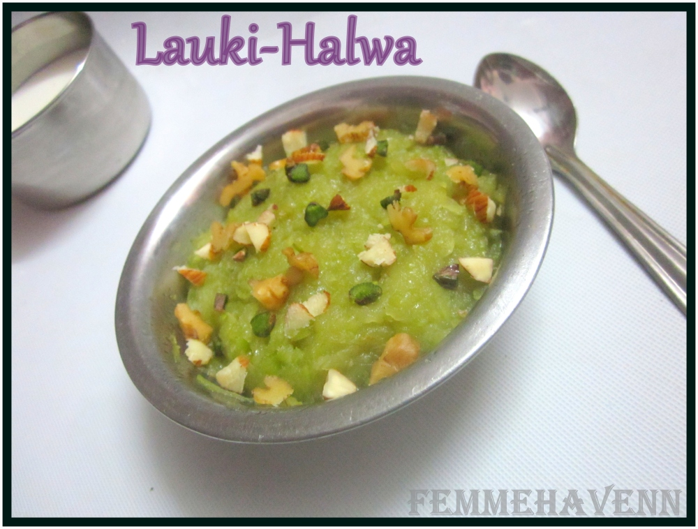 Lauki-Halwa/ Bottle-Gourd Halva/Pudding (Only Three Ingredients Recipe)