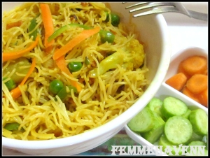 Mixed Vegetables Vemicelli Pulao