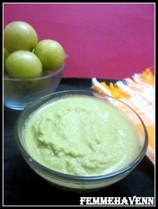 Amla Chutney (Indian Gooseberry Dip)