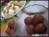 Chawal Ke Laddo or Rice flour Sweet Snow-Balls with gulabjamuns