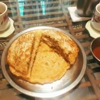 Peas Stuffed Rava/ Rawa Cheela/Chilla or Pancake